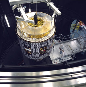 Meteosat Second Generation (MSG) testing at ESTEC