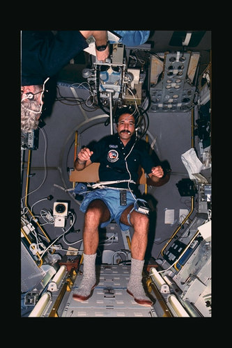 Ockels during Spacelab-D1 mission
