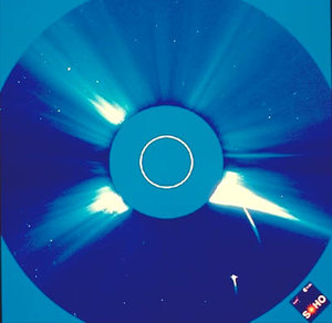 Soho observes comets plunging into Sun