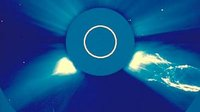 Soho observes large CME