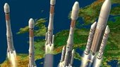 The Ariane launch vehicle family