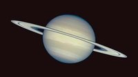 True-colour image of Saturn