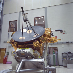 Ulysses in ESTEC Test Centre