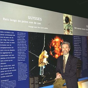 Ulysses Project Scientist Dr Richard Marsden