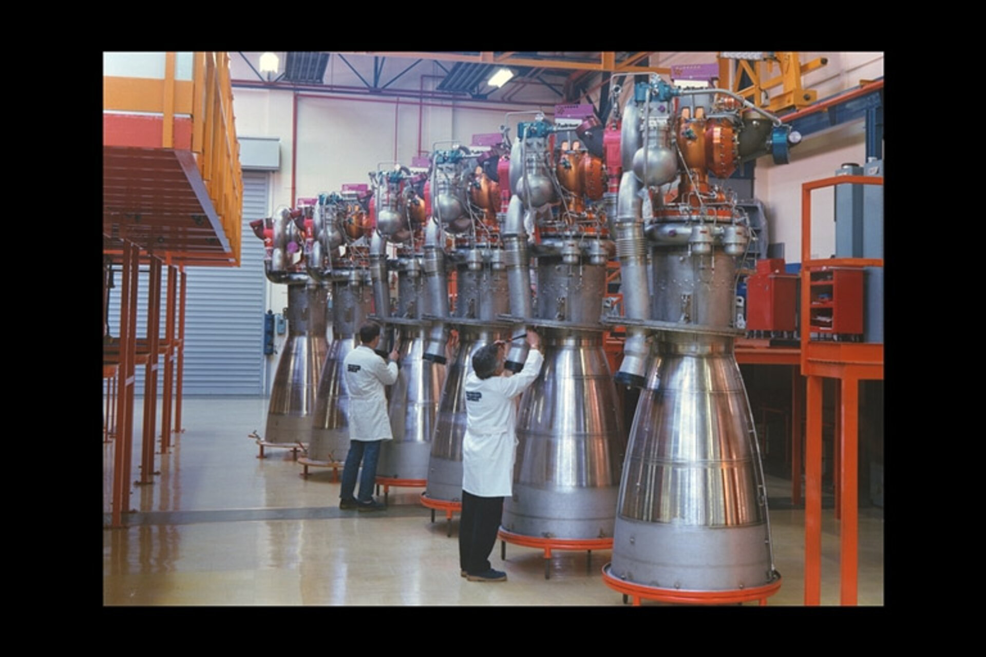 Viking engines for Ariane