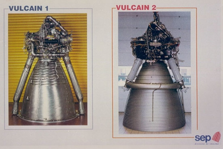 Vulcain Mk2 engine for Ariane-5E