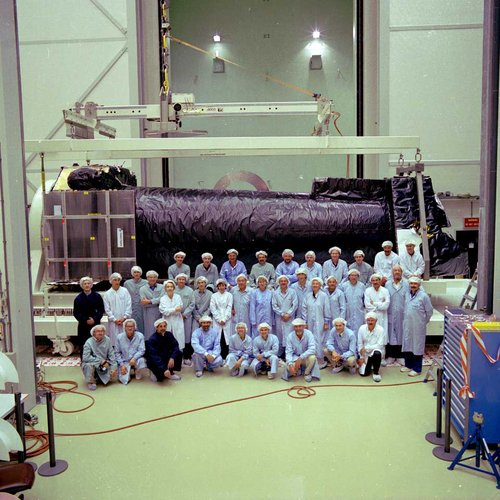 XMM ready to leave ESTEC