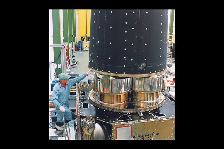 XMM spacecraft assembly (STM)