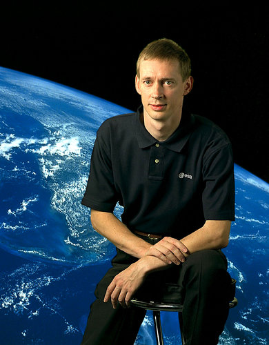 Frank De Winne, Astronaut of the European Space Agency (ESA)