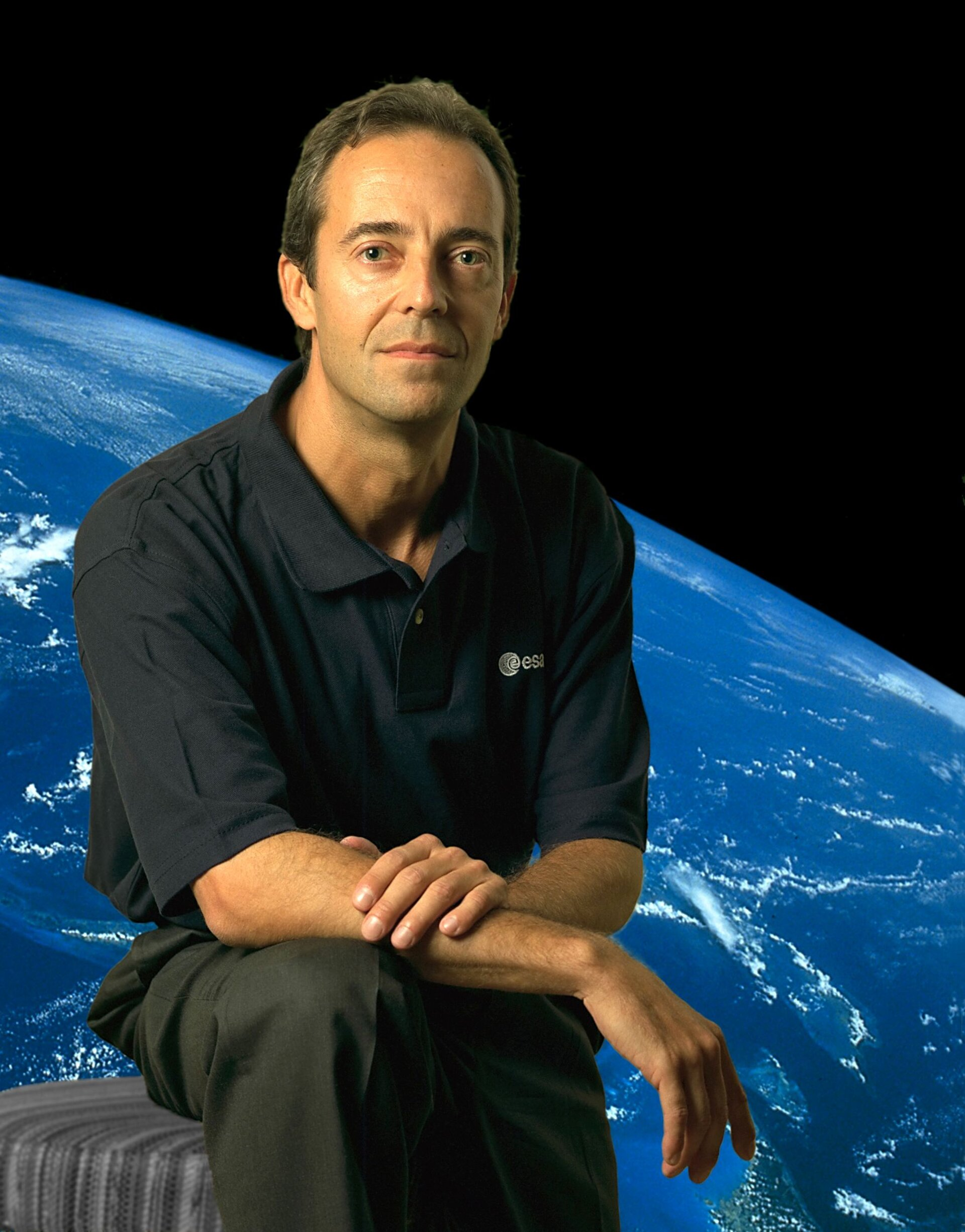 Jean-François Clervoy, astronaut of the European Space Agency (ESA)
