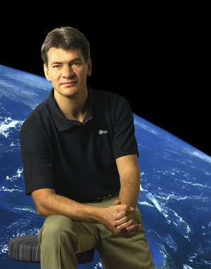 Paolo Nespoli, Astronaut of the European Space Agency (ESA)