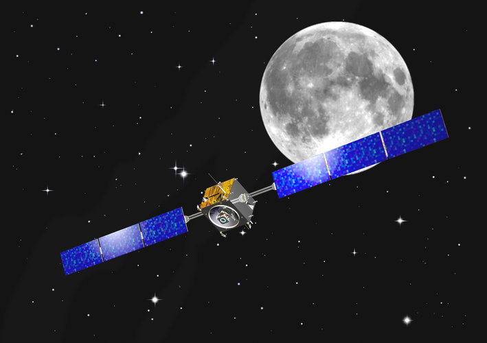 Artist's impression of the SMART-1 mission