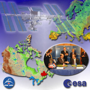 ESA and Canada renew cooperation agreement