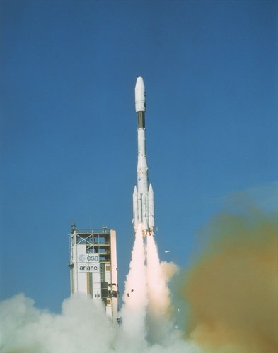 First Ariane 4 launch