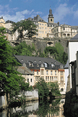 Luxembourg town view