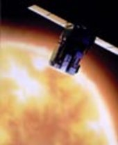 SOHO spacecraft artist's impression