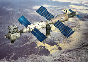 Artist's impression of ISS[
