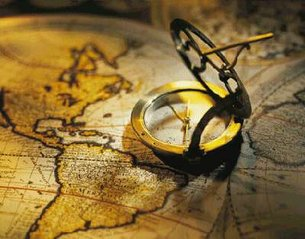 Galileo - map and compass