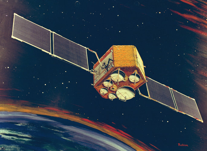 Orbital Test Satellite (OTS) - artist's impression
