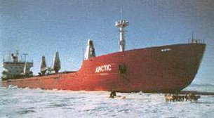 ship on ice