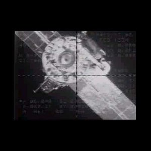 Expedition one docking with ISS