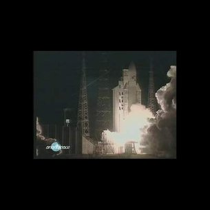 Lift-off Ariane-5 flight 135