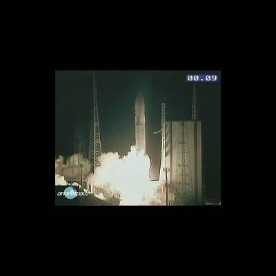 Lift-off Ariane-5, flight 135
