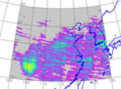Sulfur dioxide emission measurements over China