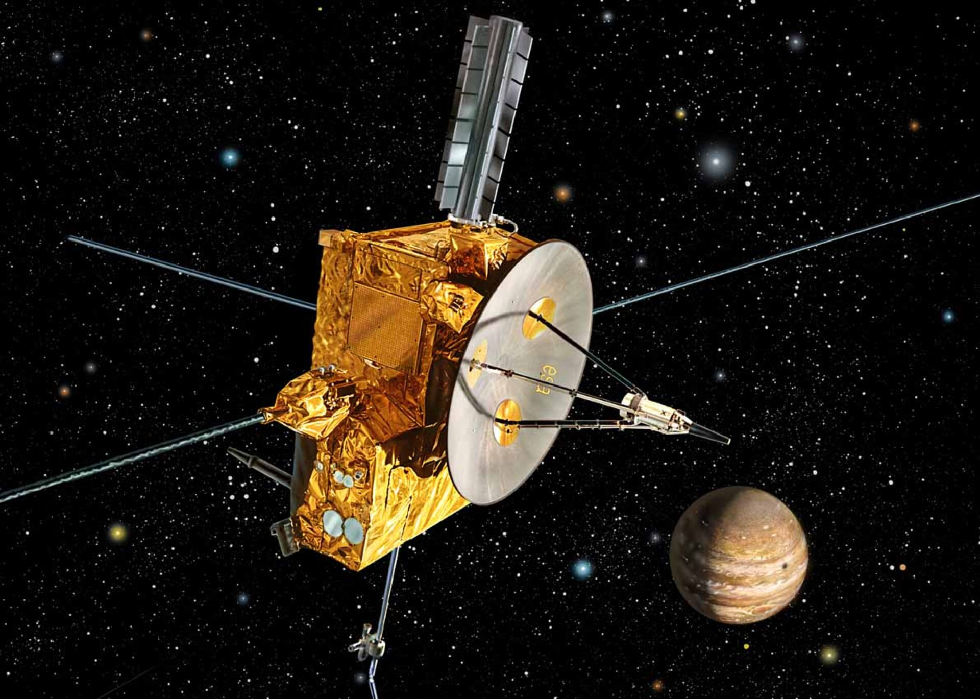Ulysses at Jupiter encounter