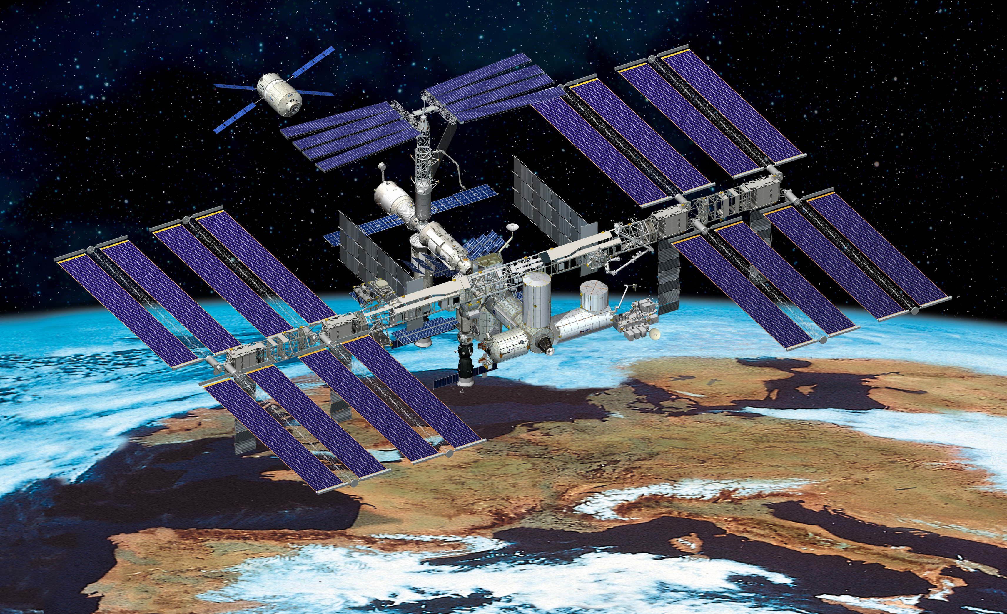 solar powered space station - photo #8