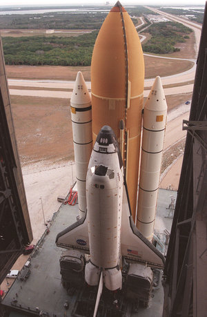 STS-98 Space Shuttle Atlantis