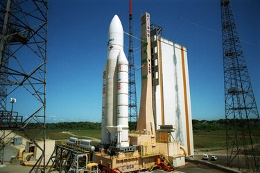 Ariane 507, V135 on the launch pad