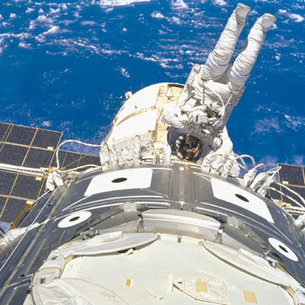 Extravehicular activity, EVA, ISS