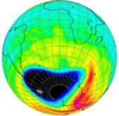 Record Ozone Hole Extension during 2000