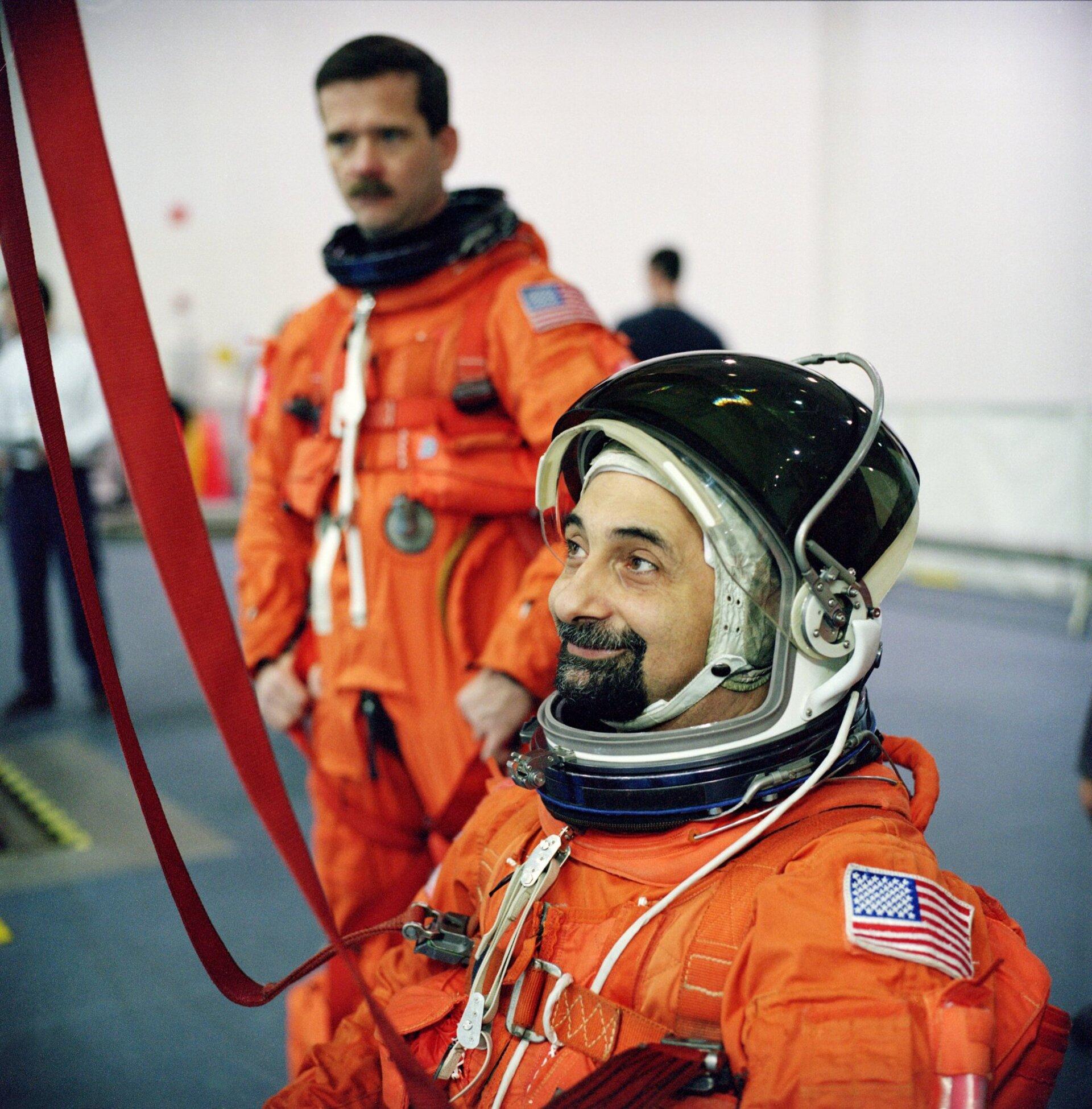 ESA - Umberto Guidoni in training