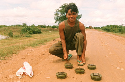 Anti-personnel mines in Cambodia