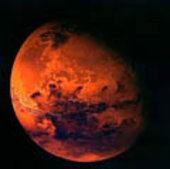 A visualisation of Mars