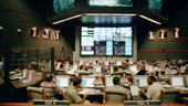 Jupiter 2 control room during Ariane 504 campaign