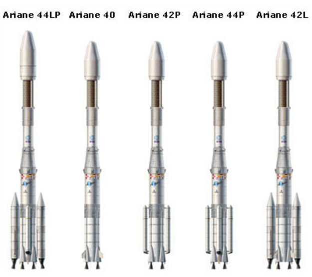 Ariane-4 launchers