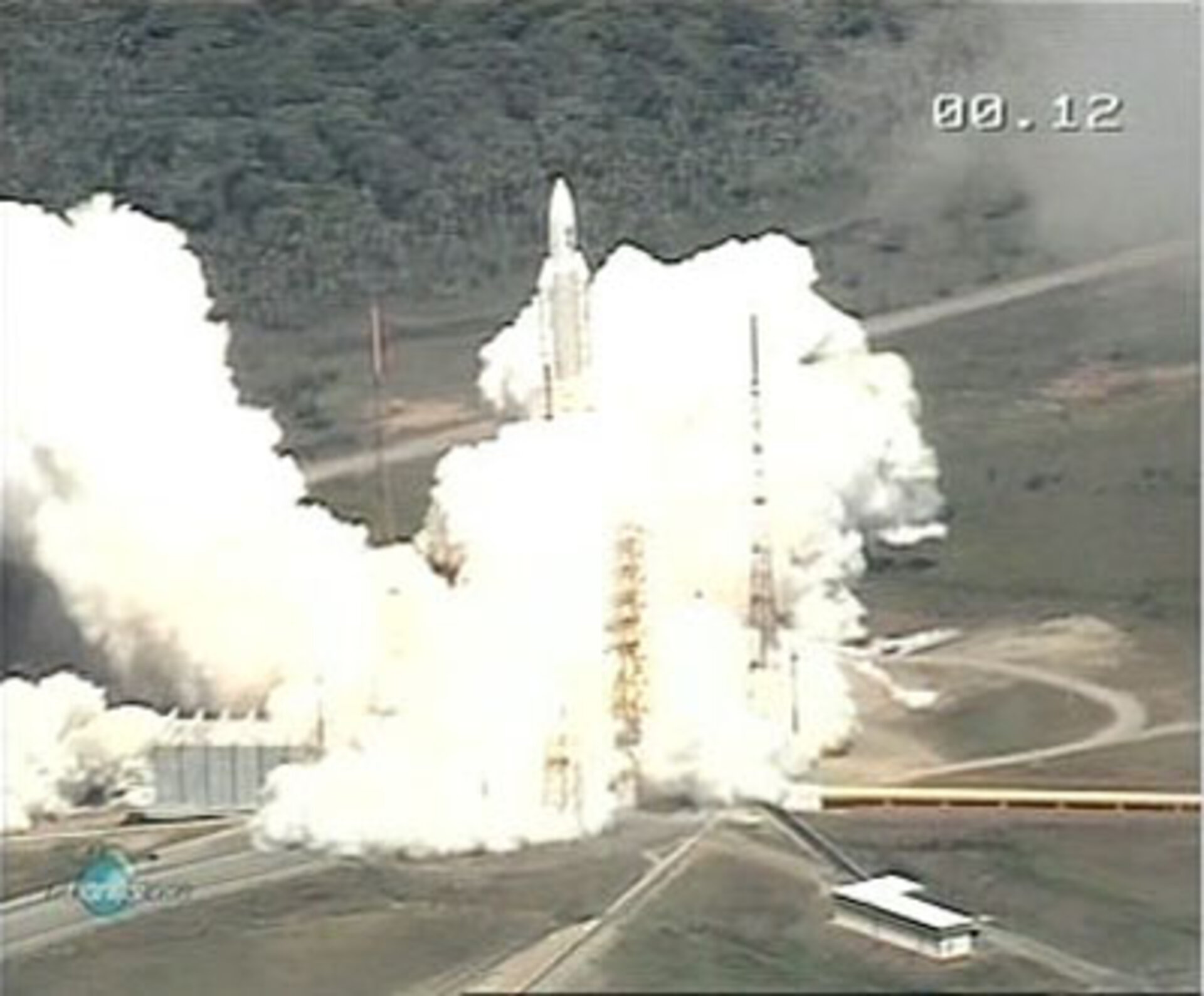 Ariane 5 at liftoff