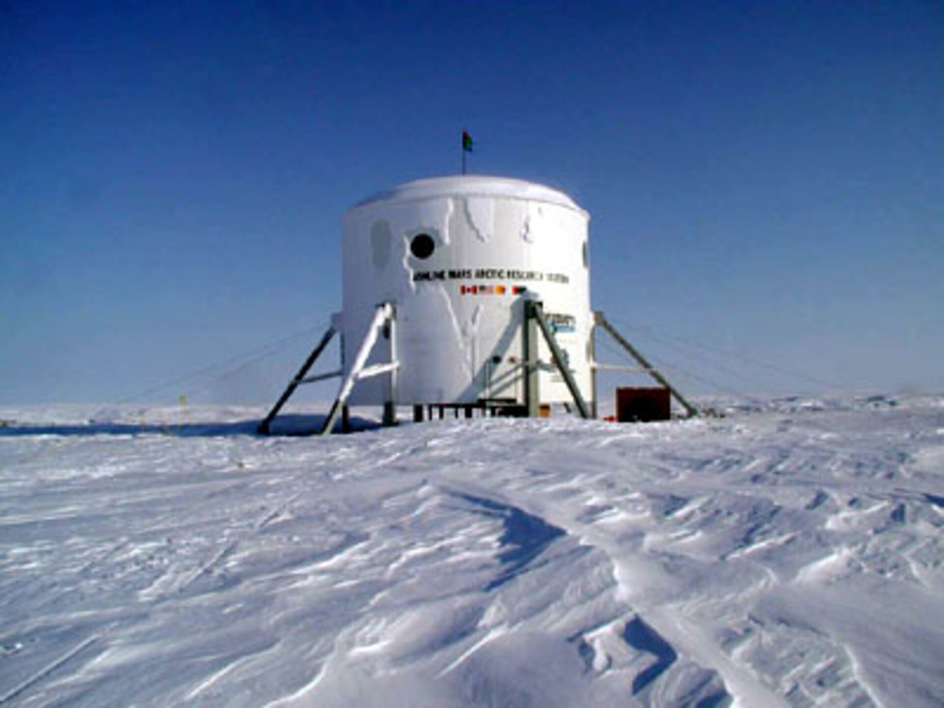 Mars Arctic Research Station