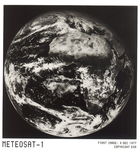 Meteosat-1 first image