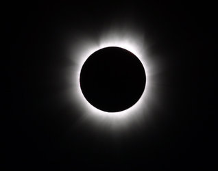 Total  eclipse seen from Africa, 2001