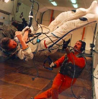 Astronaut training - parabolic flight