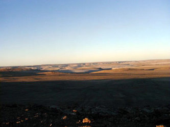 Dawn on Devon Island