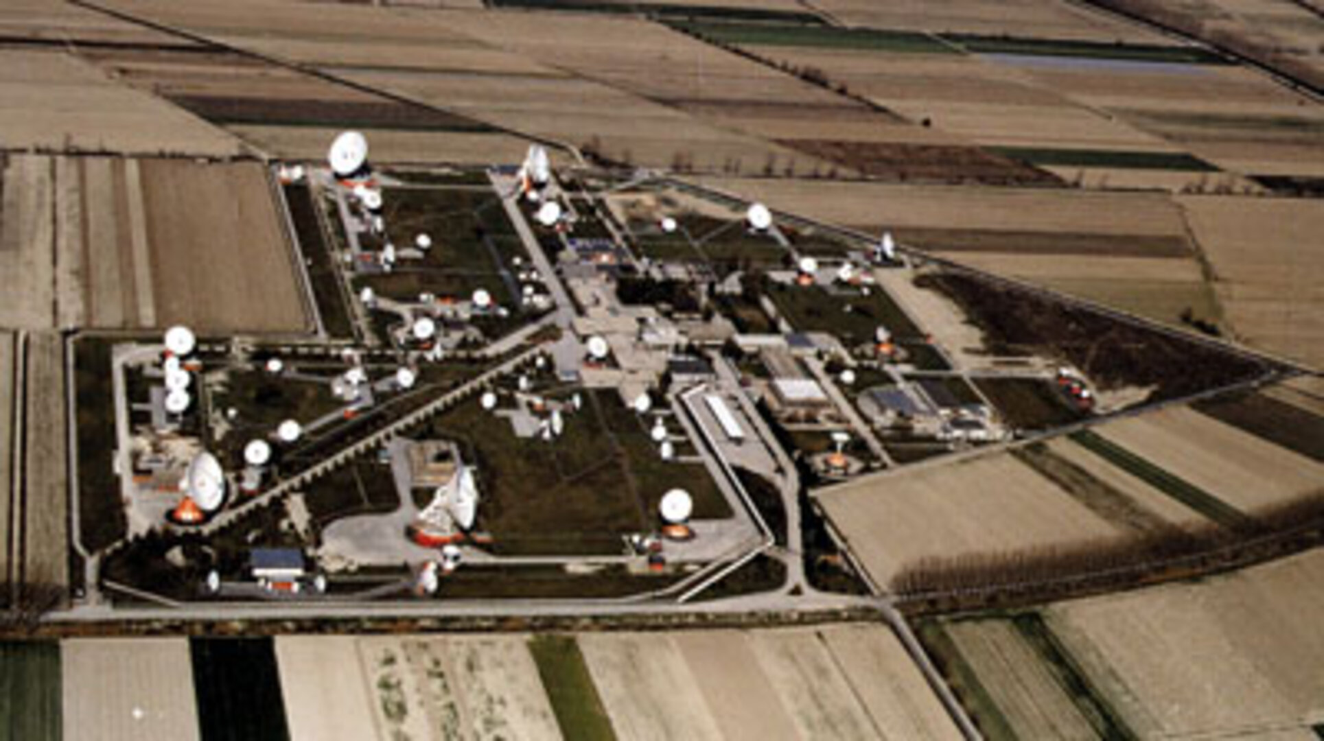 Aerial view of Fucino