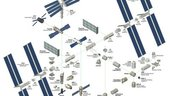 The International Space Station - Exploded View