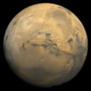 Valles Marineris on Mars
