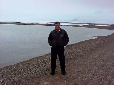 Vladmir Pletser in Resolute bay