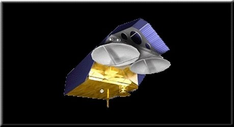 Concept illustration for the CryoSat satellite design